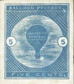 Buffalo Balloon stamp