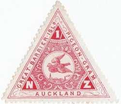 Pigeon stamp