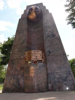 Darius and Girenas monument, Marquette Park, Chicago