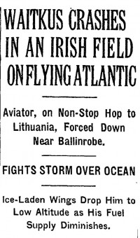 New York Times, Page 1; Sept. 23, 1935
