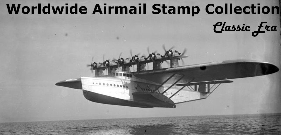 Worldwide Airmail Stamp Collection